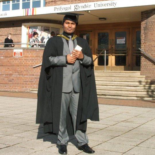 Silas Graduation