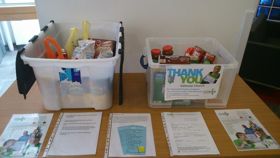 Food for foodbank