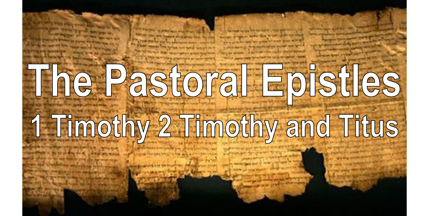 1 Timothy 4:11-5:2 – Old and Young men. Personal disciplines